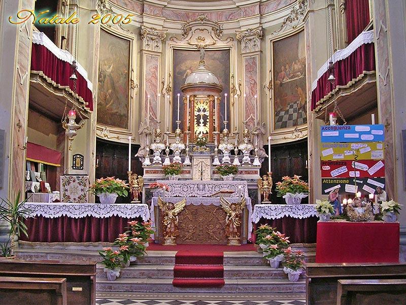 Matrimonio Natale Chiesa : Parrocchia di vallalta chiesa parrocchiale e addobbi