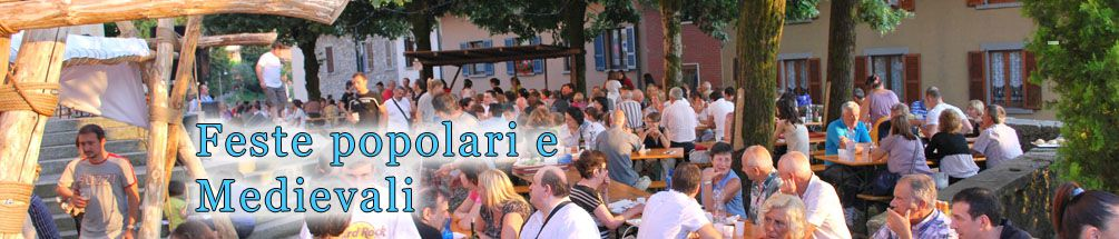 22 Giugno - 1 Luglio 2018 Feste popolari e medievali in arrivo. Consulta il programma e scarica le locandine.
